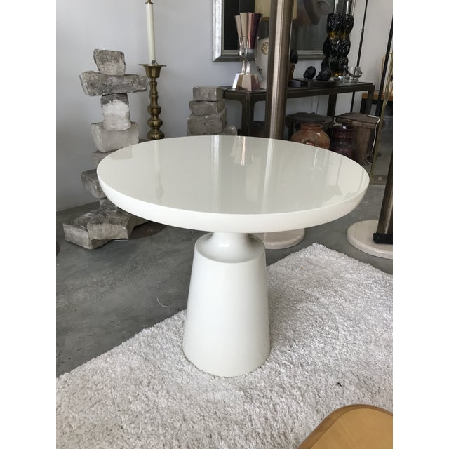 Signed Holly Hunt End Table For Sale - Image 10 of 10