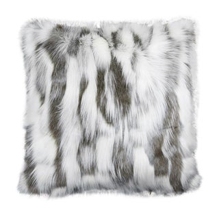 "Piper Collection Faux Fur ""Misha"" Pillow For Sale"