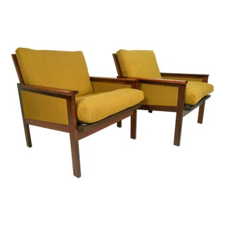 Danish Modern Rosewood Lounge Chairs For Sale