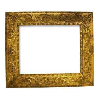 20th Century Regency Gold Picture Frame For Sale