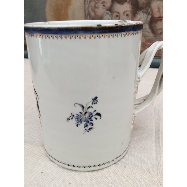 Asian 18th Century Chinese Export Tankard For Sale - Image 3 of 10