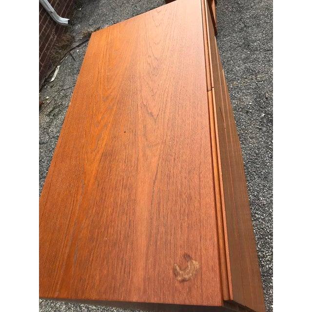 Danish Teak Tall Dresser - Image 5 of 7