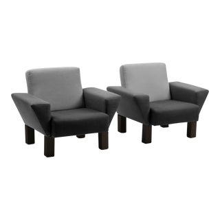 Ettore Sottsass Gradient Armchairs for Knoll - a Pair