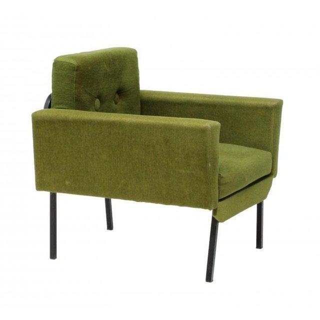 Italian Mid Century Modern Club Chairs - Pair - Image 4 of 5