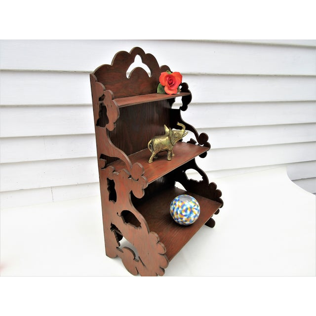 Wooden Tiered Display Shelf - Image 8 of 9