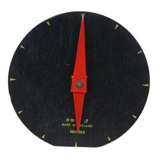 Vintage Esavian English Display Clock on Stand