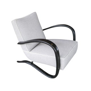 Jindrich Halabala Lounge Chair For Sale