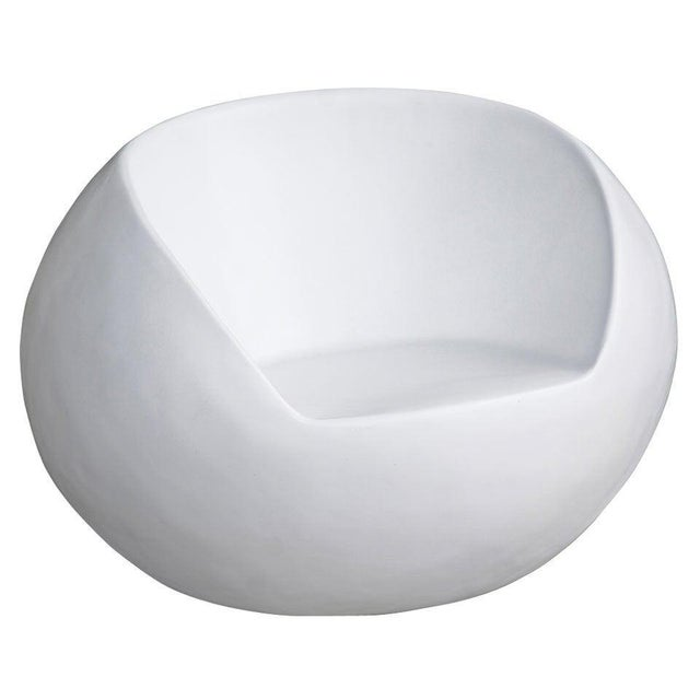 1960s 1960s Retro Fiberglass Orb Egg Chair For Sale - Image 5 of 5