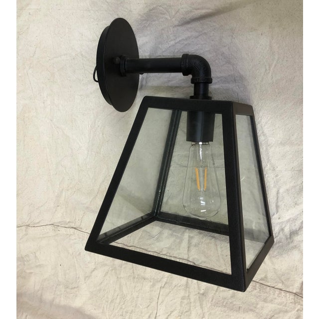 Amherst River Valley Rust Outdoor Wall Light by Troy Lighting For Sale In Washington DC - Image 6 of 6