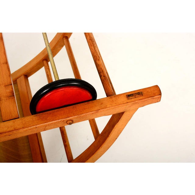 Vintage Schaukelwagen Swing and Race Car Toy, Midcentury For Sale - Image 4 of 6