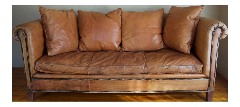 Captivating Ralph Lauren Brompton Leather U0026 Down Sofa