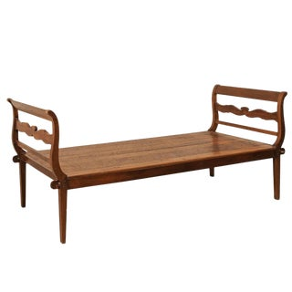 19th Century Brazilian Peroba Hardwood Daybed For Sale