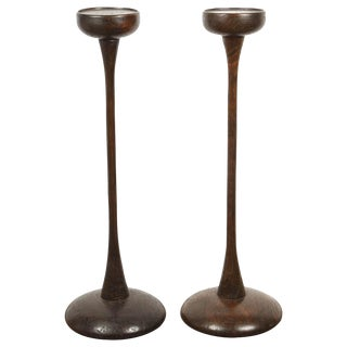 Pair of Central Java Teak Stands For Sale