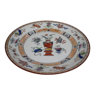 1900s Antique Maestricht Potiche Plate For Sale