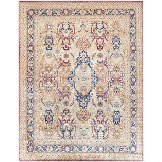 Mansour High Quality Handwoven Agra Rug - 8' X 10' For Sale