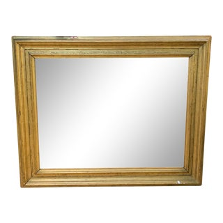 Large Antique Gilt Wood Picture Frame For Sale