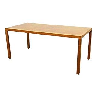Silky Oak Writing Desk For Sale