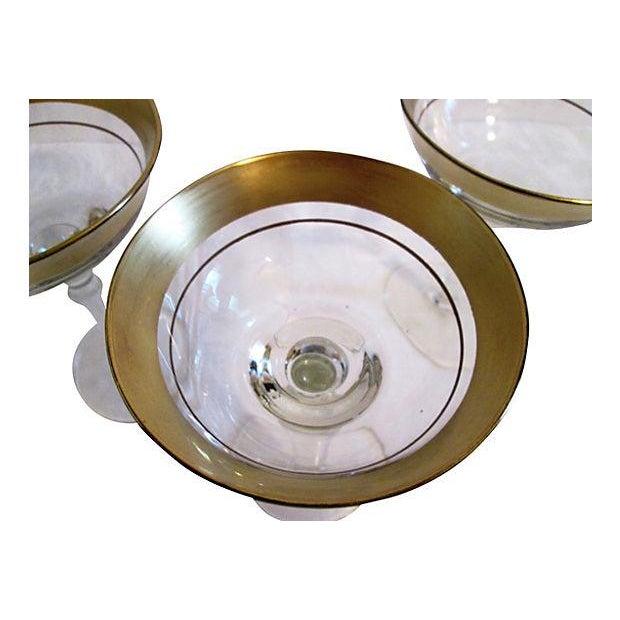 Gold Banded Cocktail Glasses - Set of 4 - Image 5 of 5