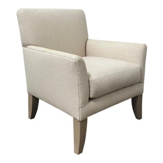 RJones Stewart Khaki Lounge Chair For Sale