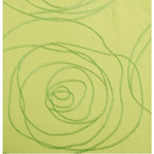 Margeaux Kiwi Embroidery Fabric - 5 Yards - Image 2 of 2