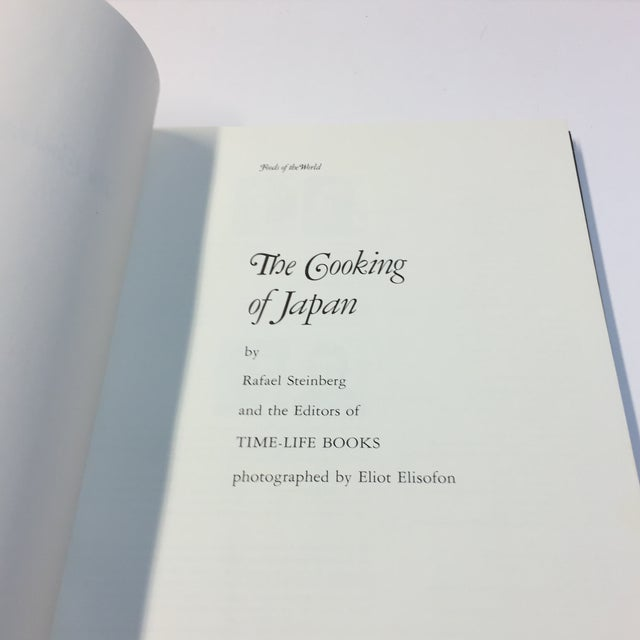 Asian The Cooking of Japan 1972 Book For Sale - Image 3 of 13