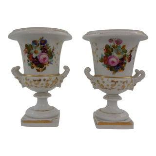 Old Paris Medici Vases - a Pair For Sale
