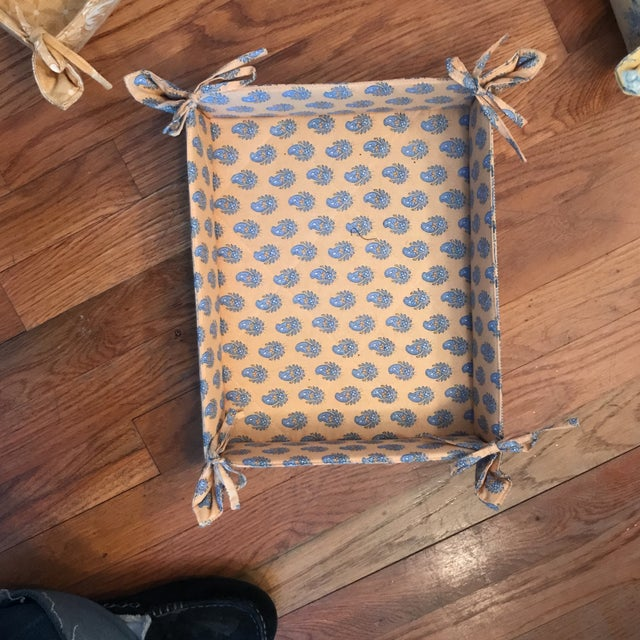 Pierre Deux Fabric Storage Trays - Set of 3 For Sale - Image 5 of 6