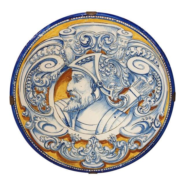 Antique Renaissance Style Platter from Spain For Sale