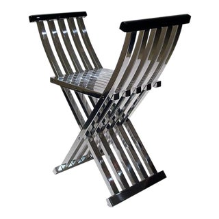Folding Bench by John Vesey For Sale