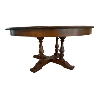 Traditional Large Jupe Dining Table For Sale