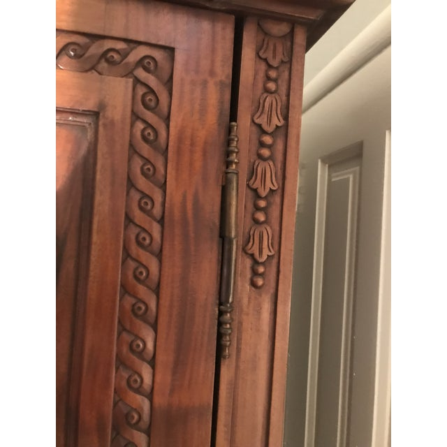 Antique French Country Armoire - Image 9 of 10
