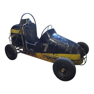 1950s American Original Quarter Size Race Car For Sale