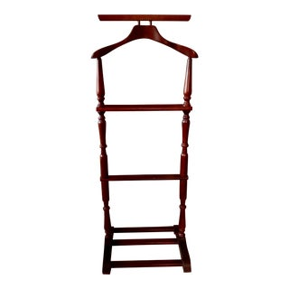 1960s Mahogany Clothes Stand For Sale