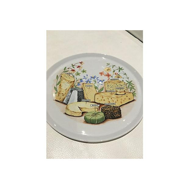 French Cheese Serving Platter For Sale - Image 4 of 6