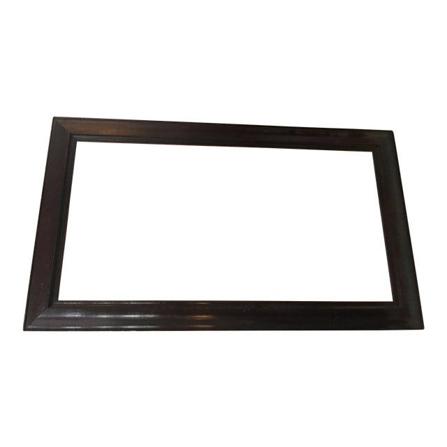 Victorian Mahogany Picture Frame For Sale