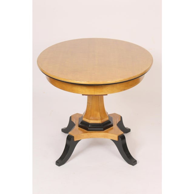 Biedermeier Biedermeier Style Oval Occasional / Center Table For Sale - Image 3 of 11