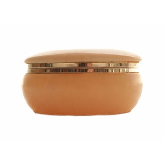 Italian Blush Stone Trinket Box