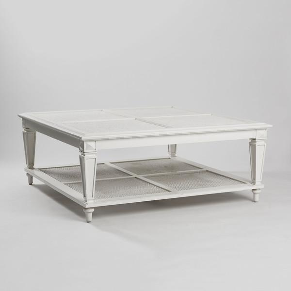 New Caned & Glass Coffee Table - Image 3 of 4