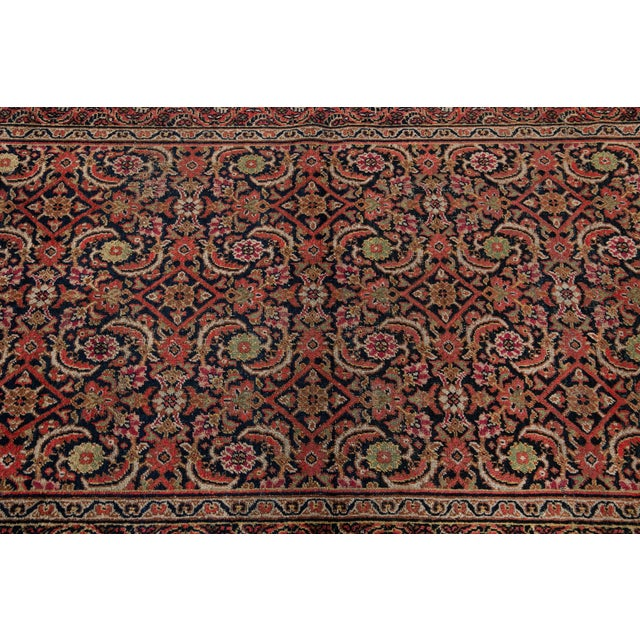 Brown Vintage Persian Wool Rug 3'10'' X 6'4'' For Sale - Image 8 of 11