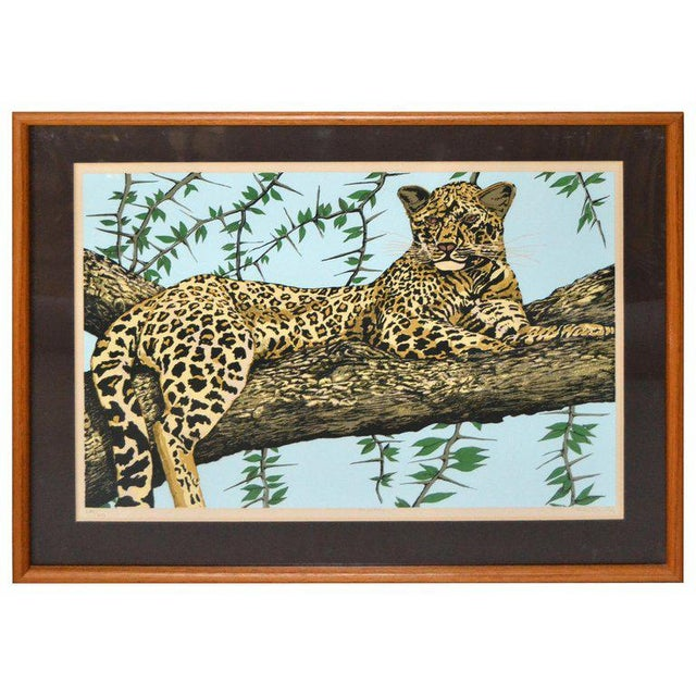 Original Lithograph 'Cheetah' Signed by Artist Mac Couley For Sale - Image 13 of 13