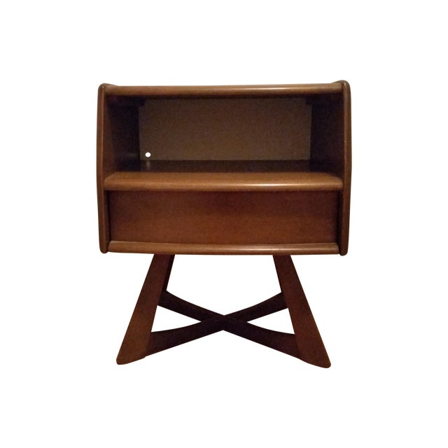 Heywood Wakefield Sculptura Nightstand - Image 1 of 10