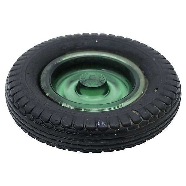 1960s b.f. Goodrich Rubber Tire Ashtray For Sale - Image 4 of 4