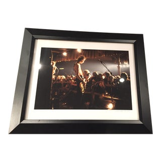 Richard E. Aaron Signed & Framed Sex Pistols Photograph, 1977