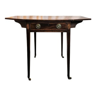 Antique English Sheraton Pembroke Table, Circa 1790-1800. For Sale