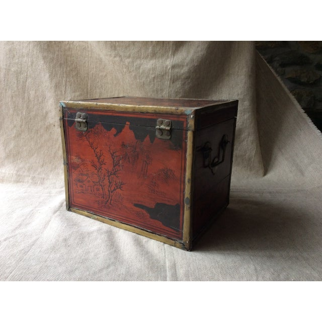 19th Century Chinese Tea Caddy For Sale - Image 11 of 12