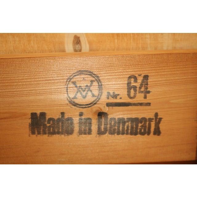 Vintage Arne Wahl Iversen Model 64 Rosewood Vinde Mobelfabrik Desk For Sale - Image 11 of 13