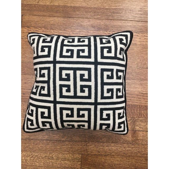 Great condition Jonathan Adler Pillow, older model so no identifying marks (such as the new stiched on JA on back) but...