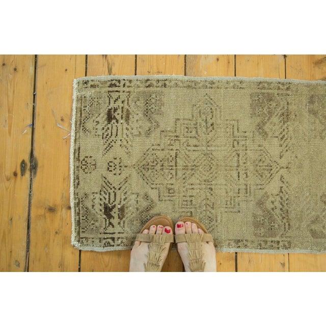 "Vintage Oushak Rug Mat - 1'6"" x 2'5"" - Image 2 of 4"