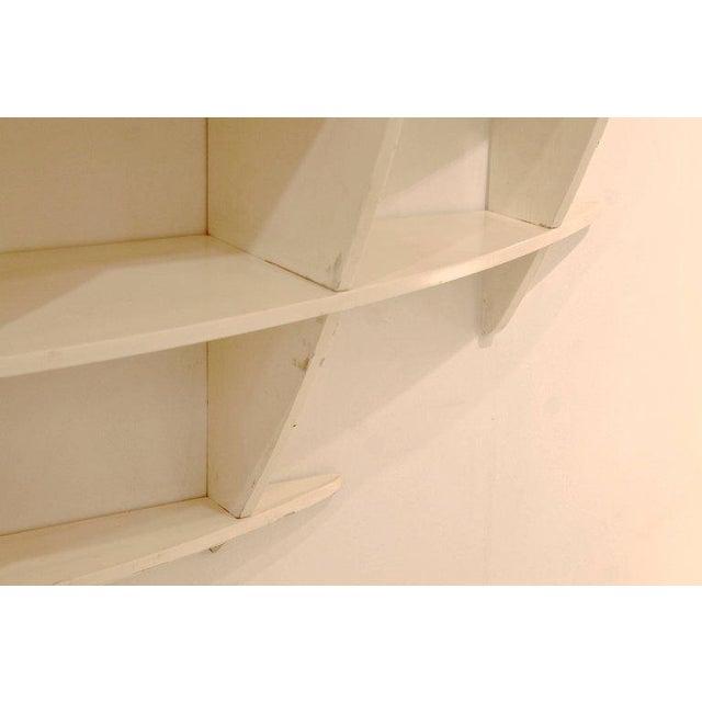 """Tyko"" Lacquered Wood Bookshelf by Manfredo Massironi for Nikol International For Sale - Image 9 of 11"