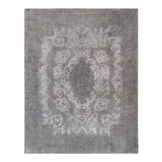 """Pasargad Vintage Overdyed Wool Area Rug - 9'11"""" x 12'11"""" For Sale"""